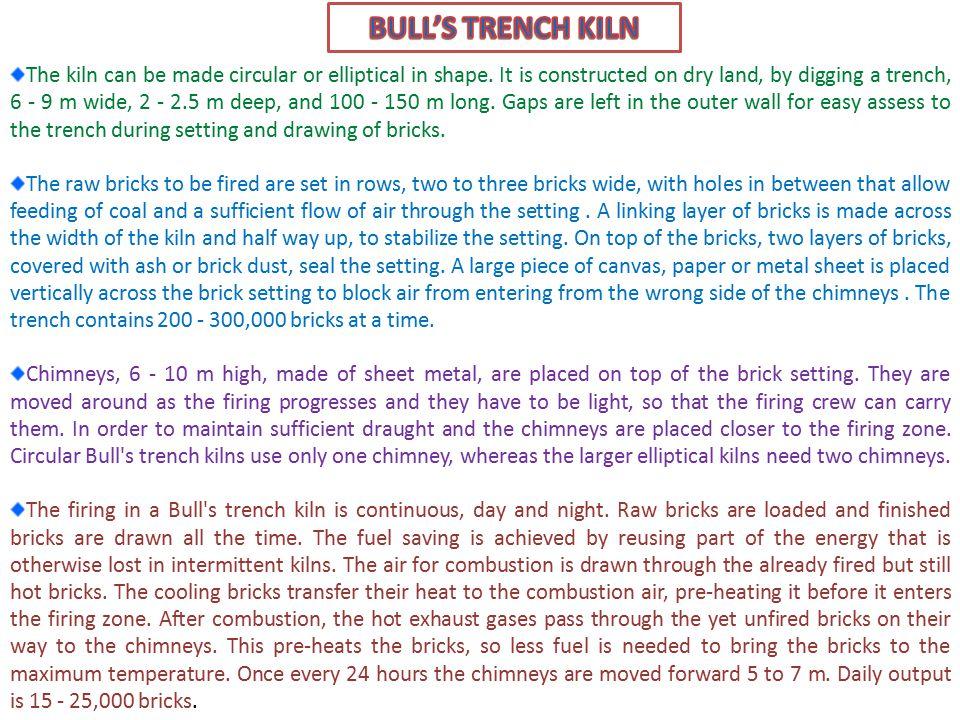 Design of a Bull's Trench Kiln