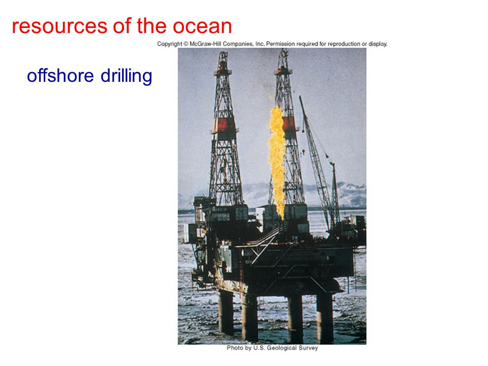 resources of the ocean offshore drilling