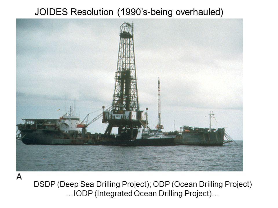 Chikyu Japanese drill ship