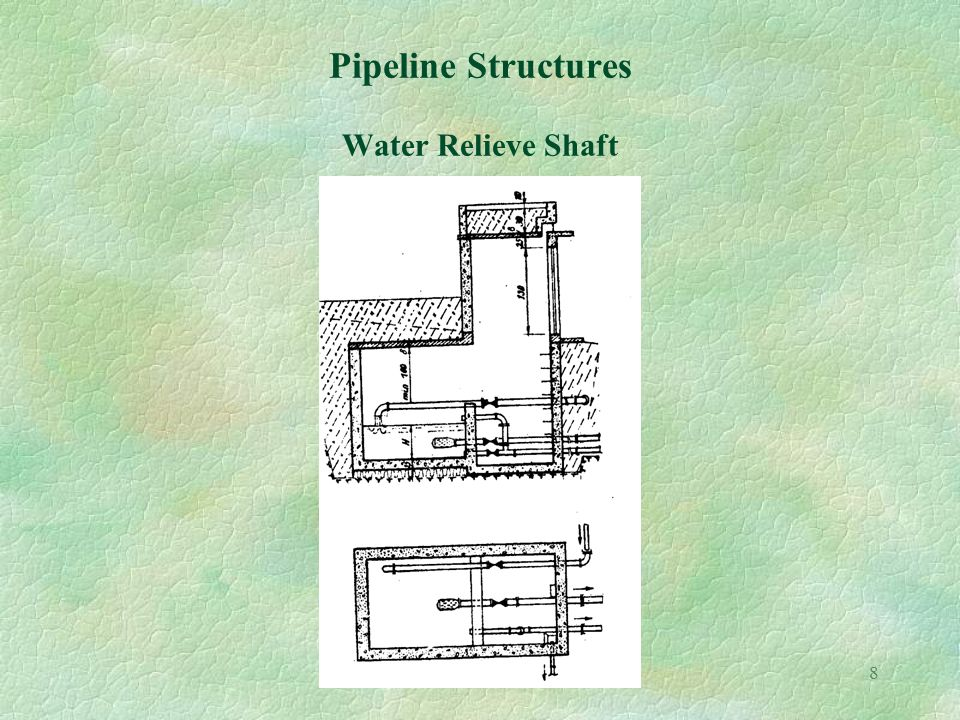 8 Pipeline Structures Water Relieve Shaft