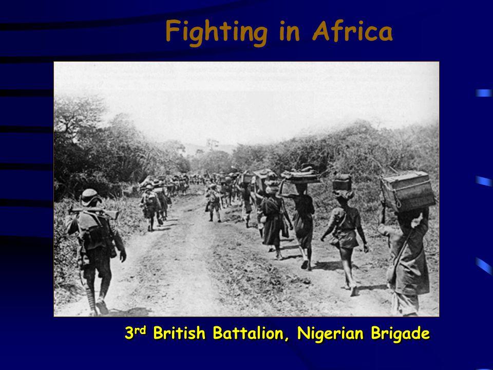 Fighting in Africa British Sikh Mounstain Gunner Black Soldiers in the German Schutztruppen [German E.
