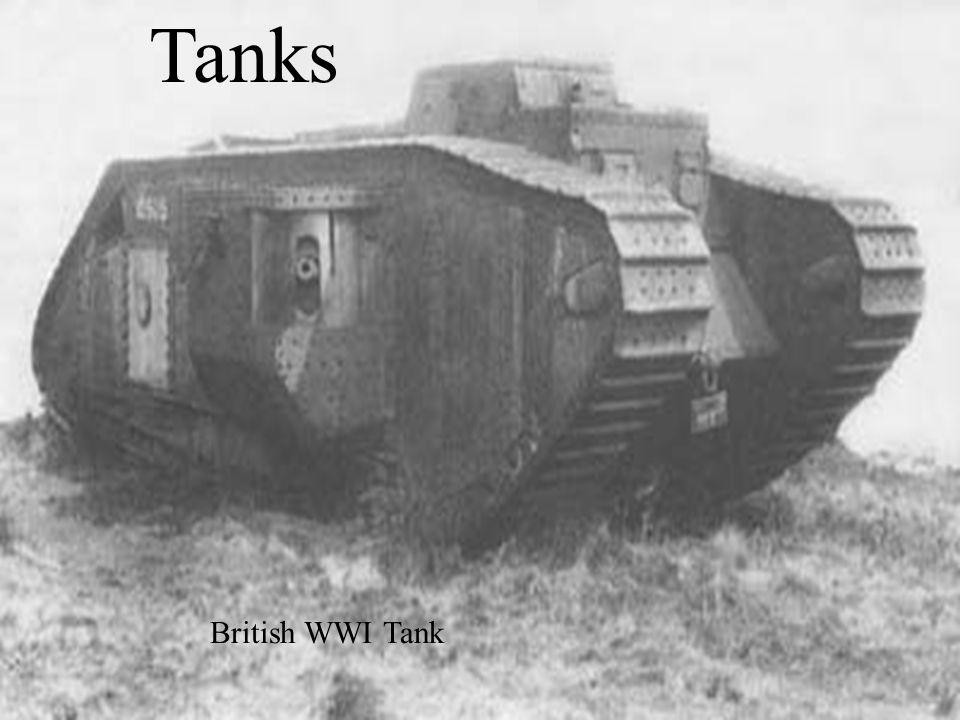 Tanks British WWI Tank