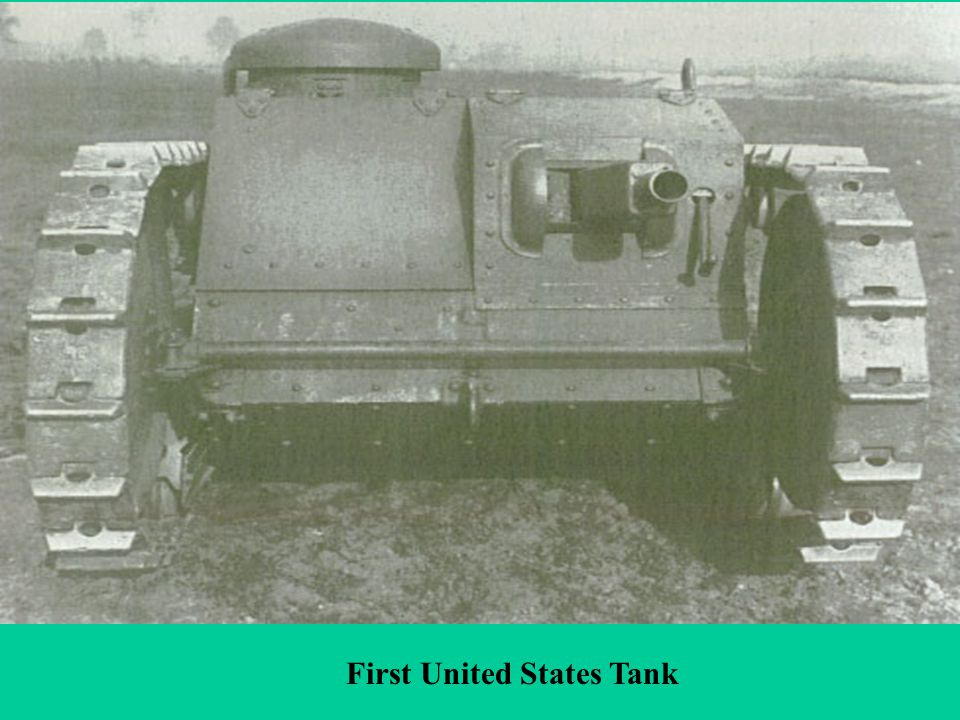First United States Tank
