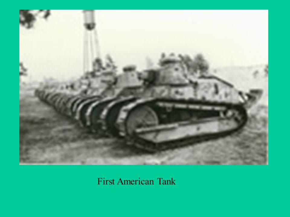 First American Tank