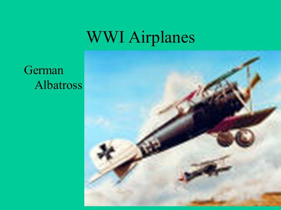 WWI Airplanes German Albatross