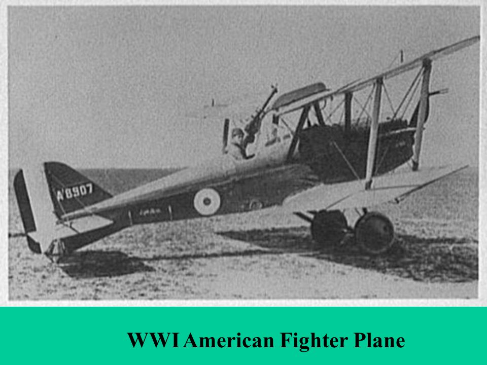WWI Airplanes WWI American Fighter Plane