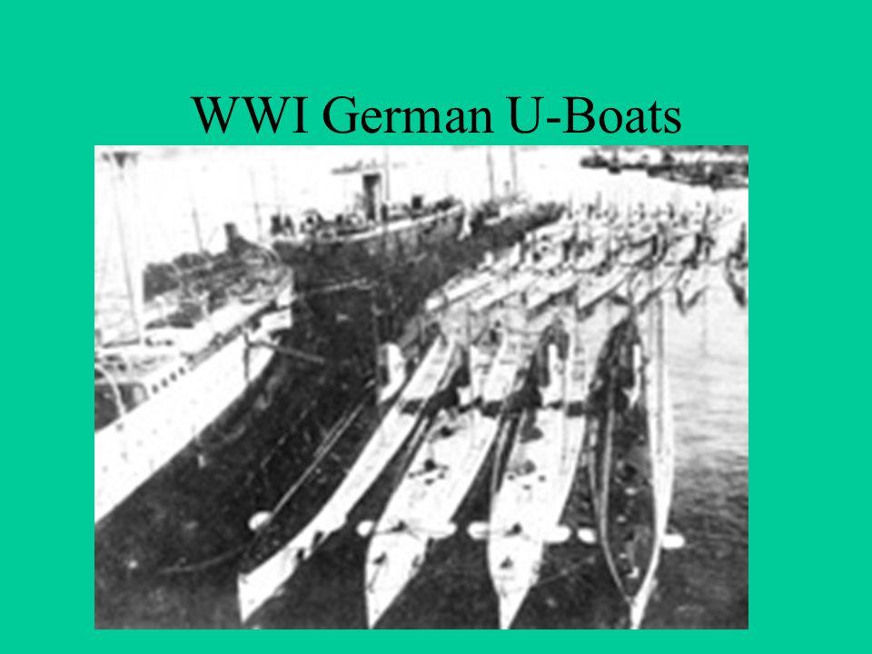 WWI German U-Boats
