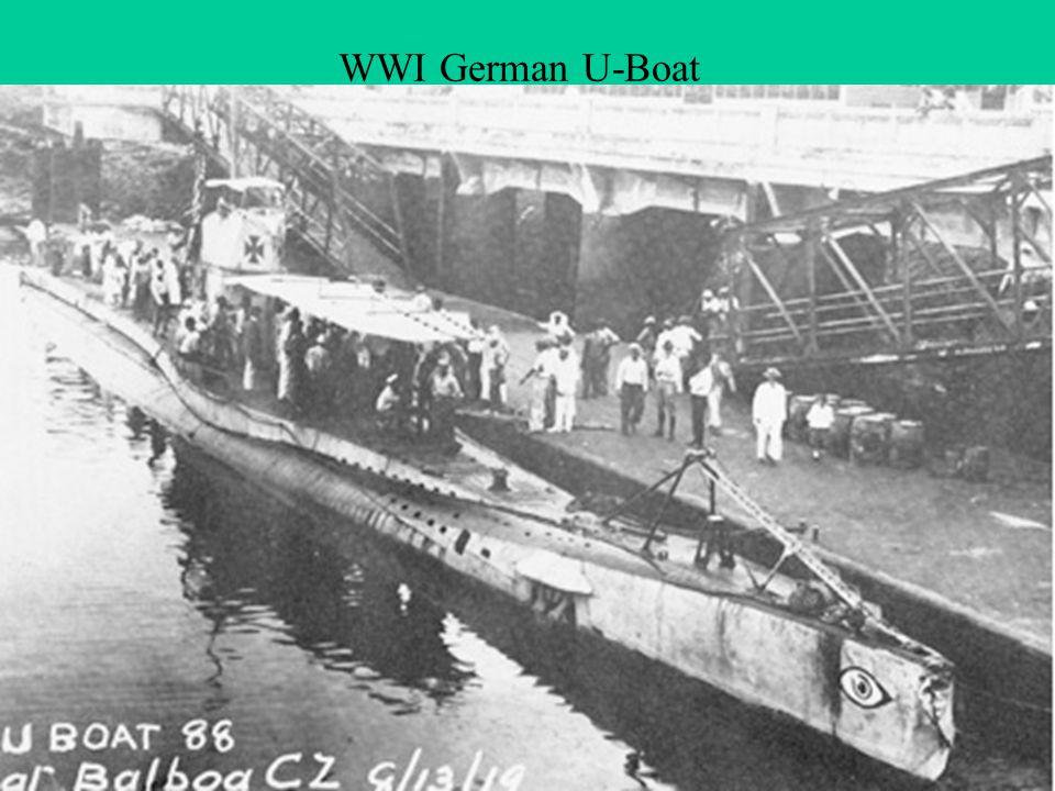 WWI German U-Boat