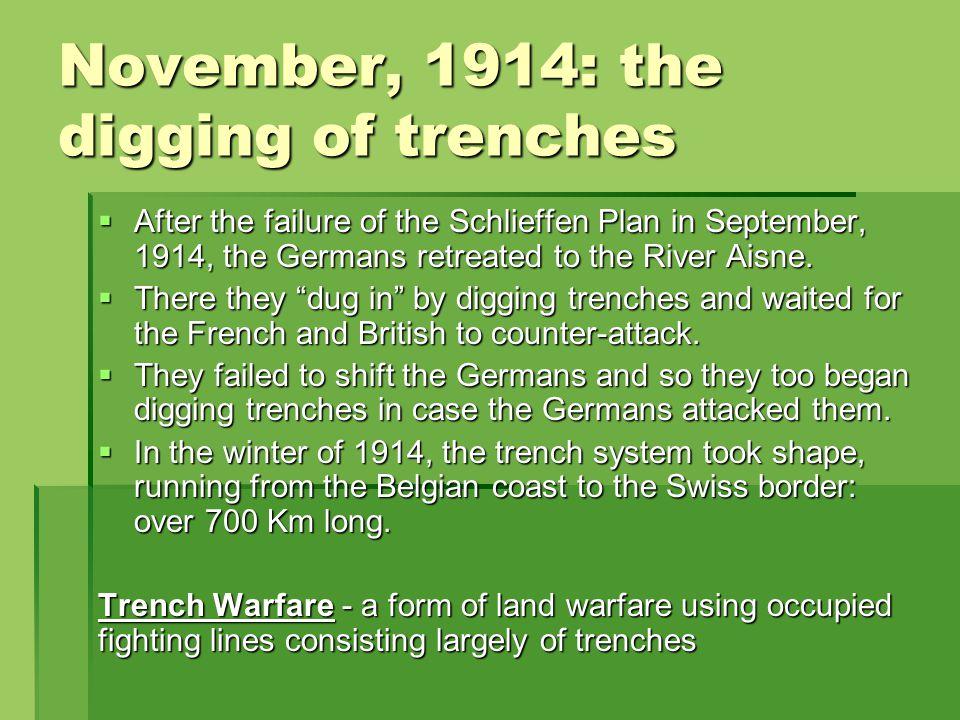TRENCH WARFARE Thursday February 14th