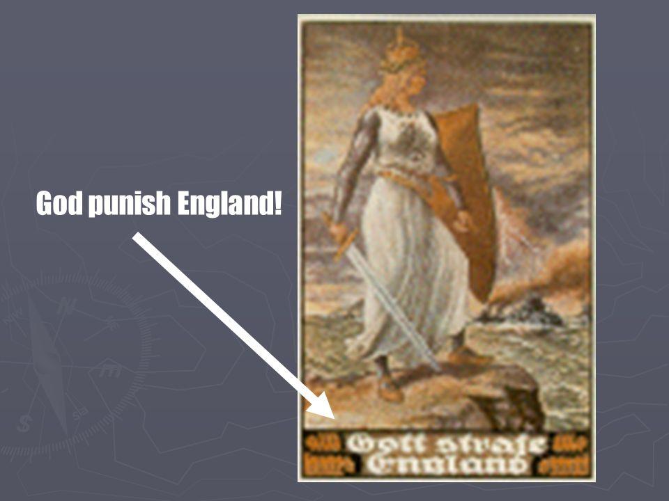 God punish England!