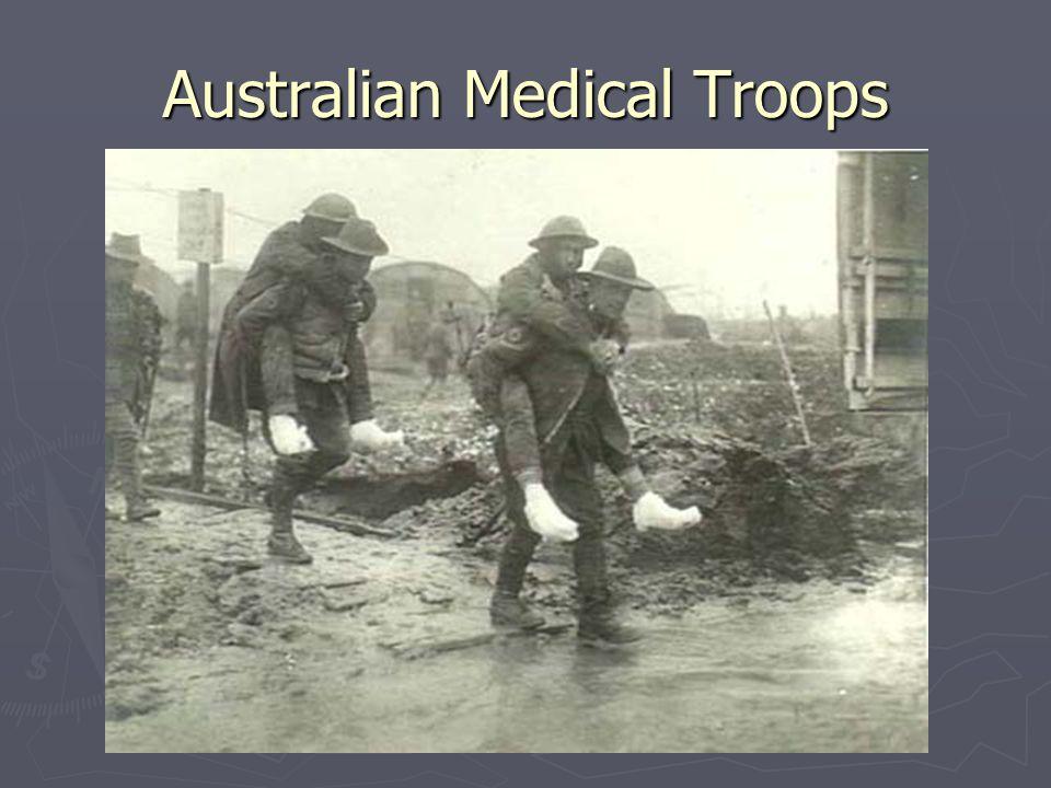 Australian Medical Troops