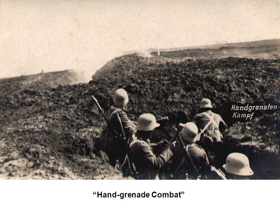 """""""Hand-grenade Combat"""""""