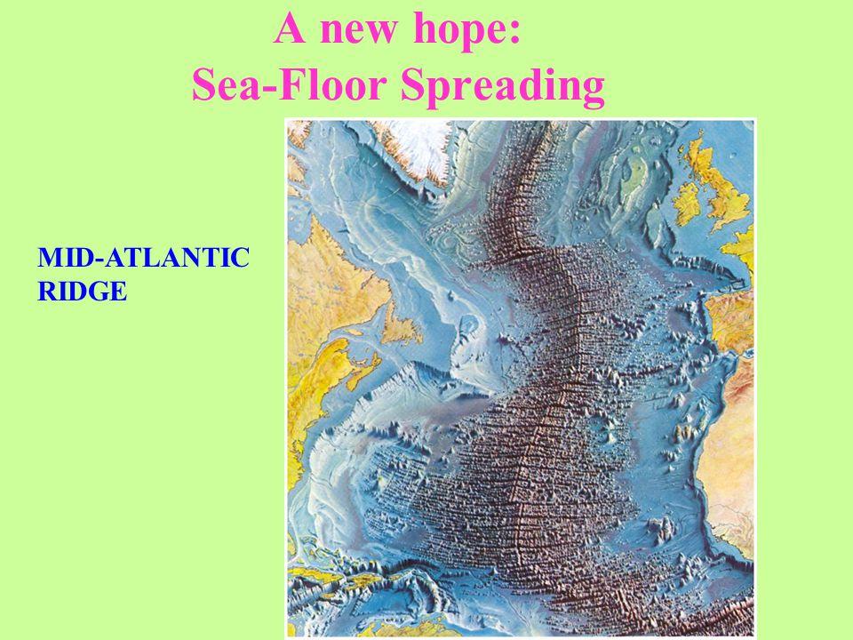 A new hope: Sea-Floor Spreading MID-ATLANTIC RIDGE