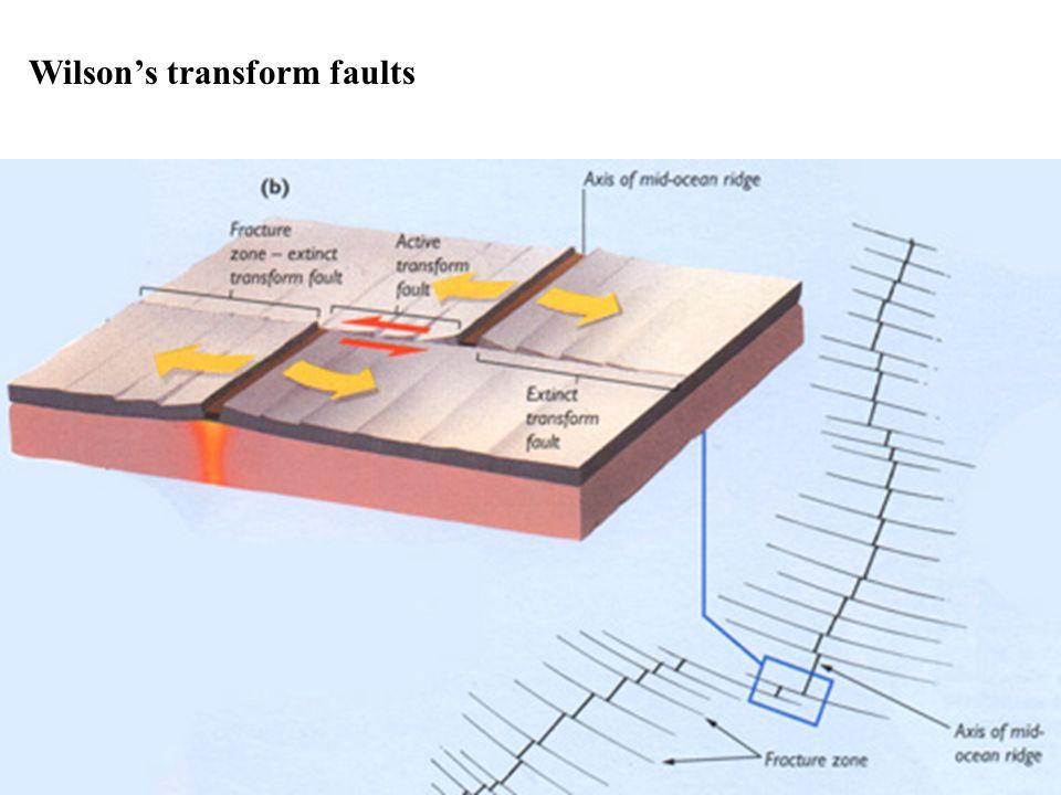 Wilson's transform faults