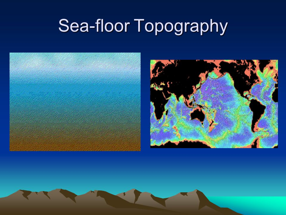 Sea-floor Topography