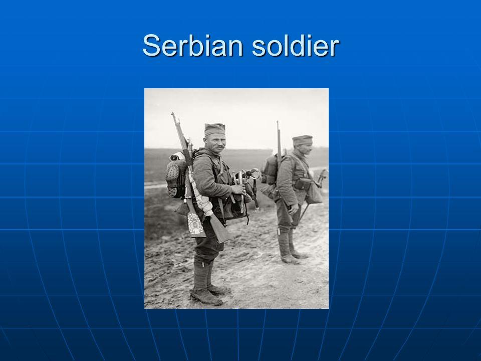 Serbian soldier