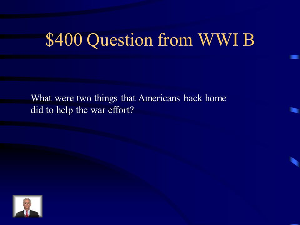 $300 Answer from WWI B Propaganda was information used to shape people's thinking.