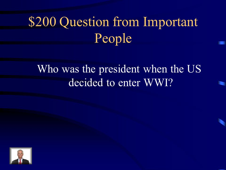 $100 Answer from Important People Louis Armstrong was a talented jazz musician during the 1920's.
