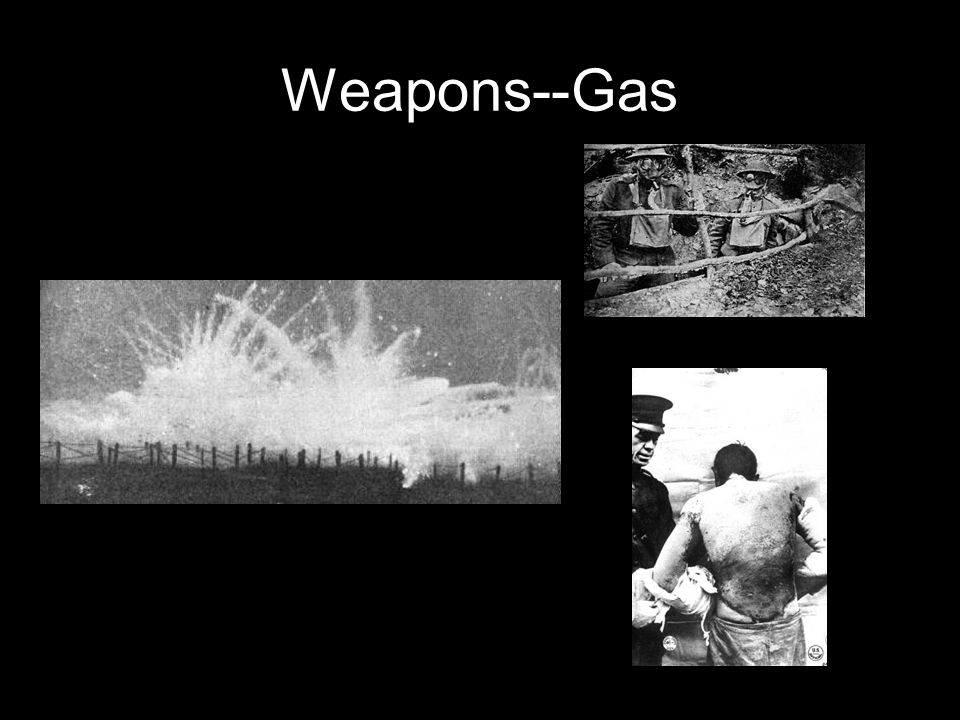 Weapons--Gas
