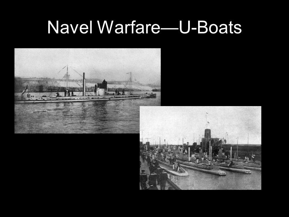 Navel Warfare—U-Boats