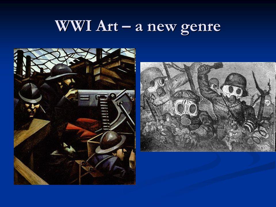 WWI Art – a new genre