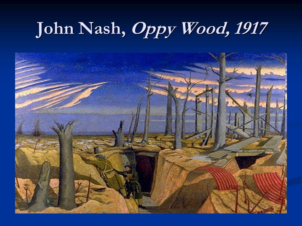 John Nash, Oppy Wood, 1917