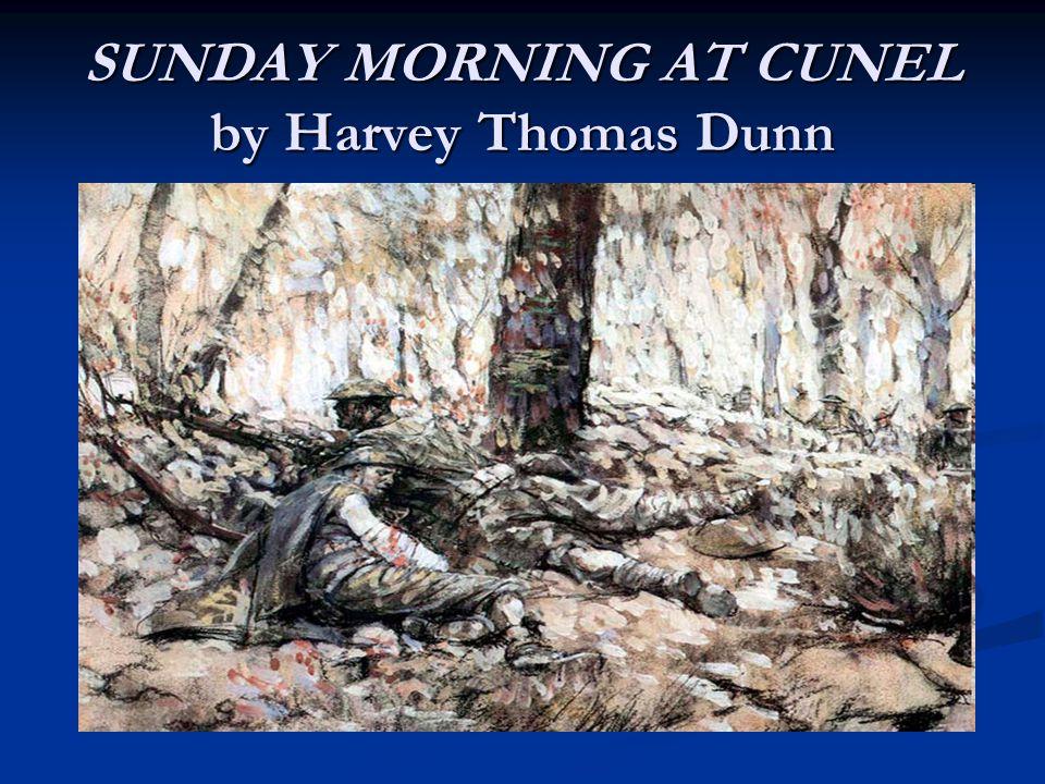 SUNDAY MORNING AT CUNEL by Harvey Thomas Dunn