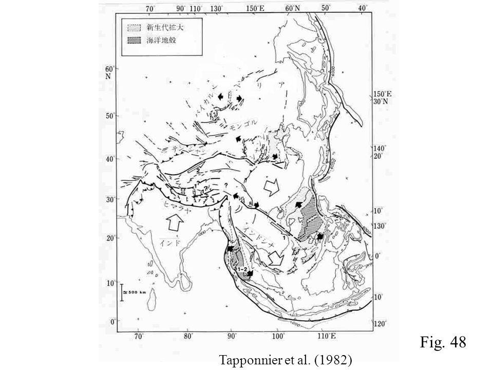 Tapponnier et al. (1982) Fig. 48