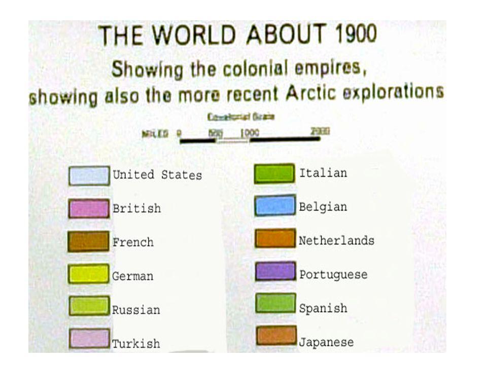European Colonialism ca.1900