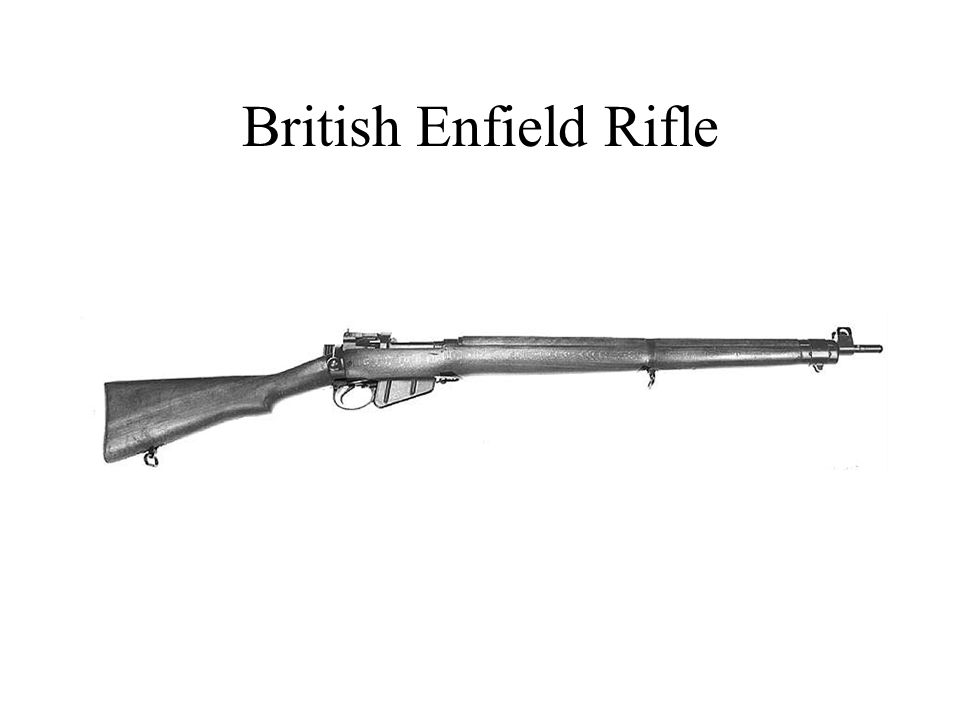 Cross section of a British trench