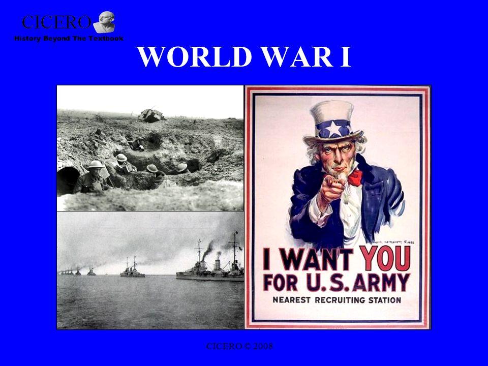 WORLD WAR I CICERO © 2008