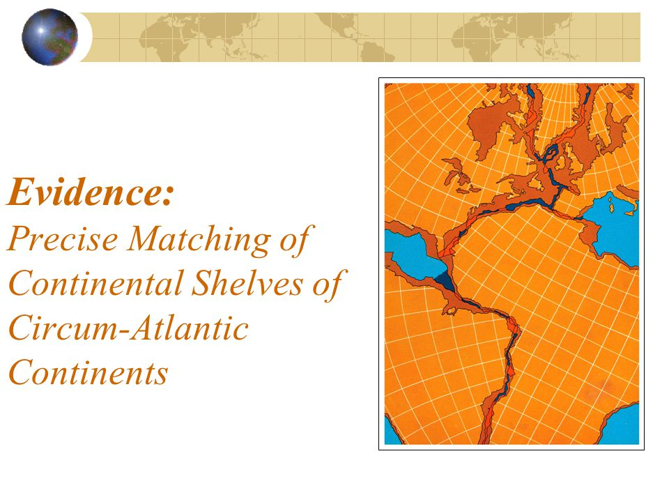 Evidence: Precise Matching of Continental Shelves of Circum-Atlantic Continents
