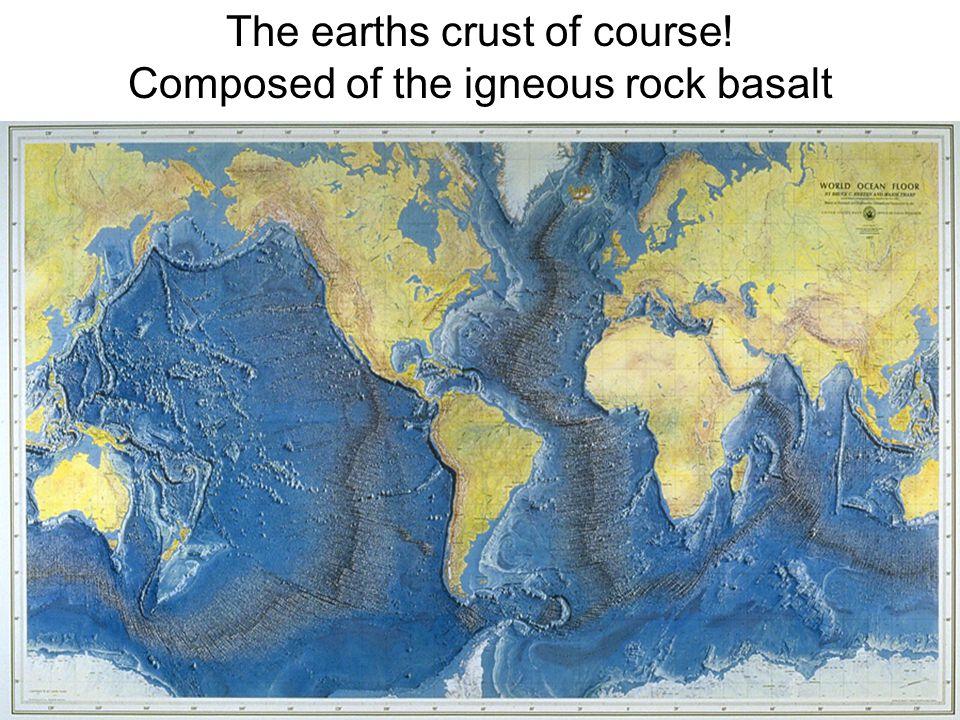 Continental shelf East coast of S. America Australia