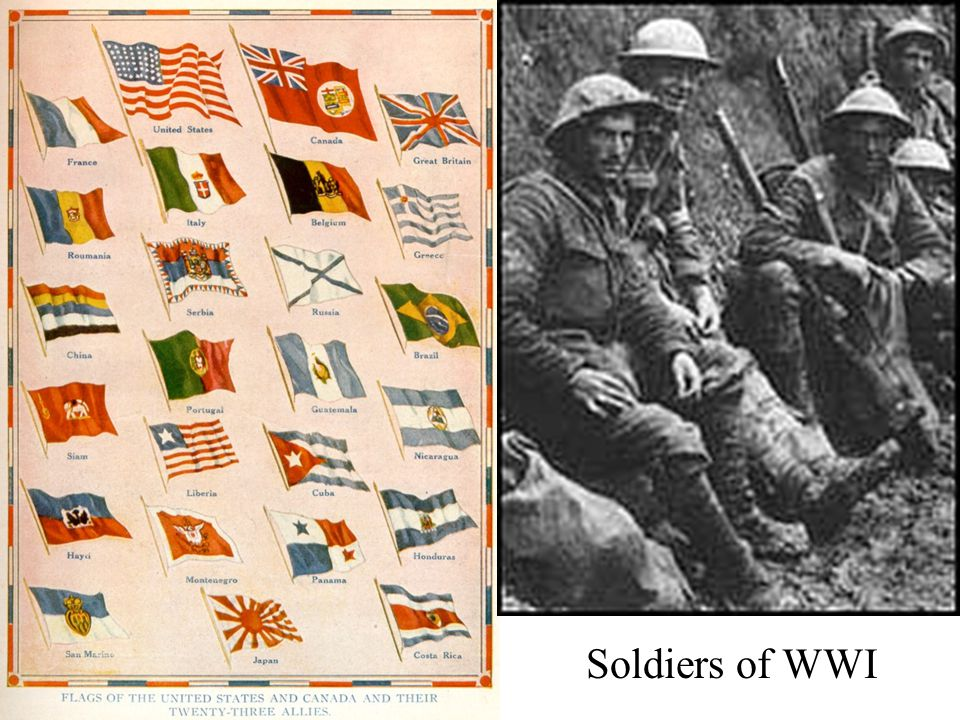 Soldiers of WWI