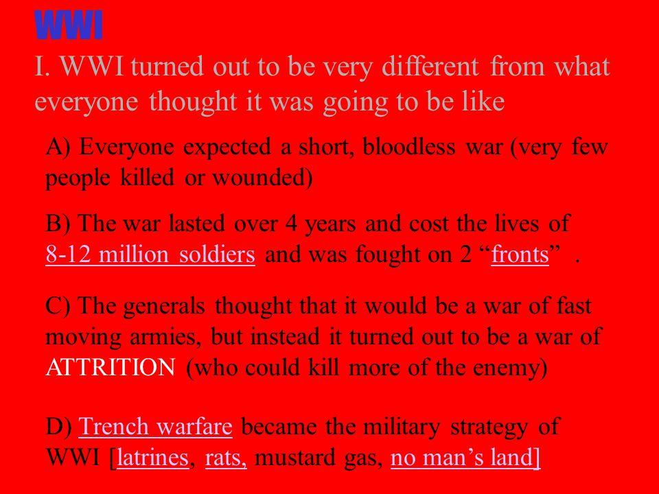 WWI I.