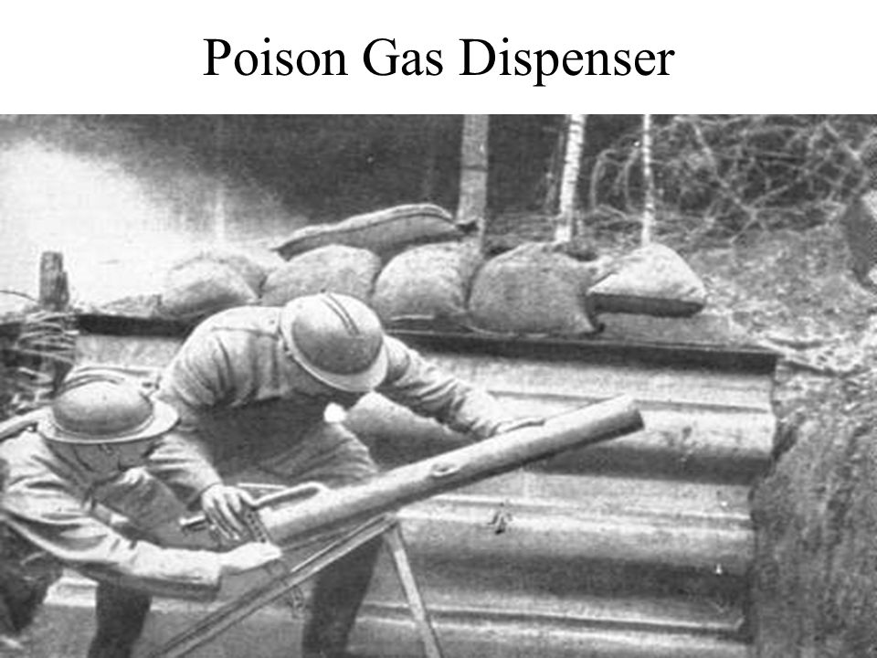 Poison Gas Dispenser