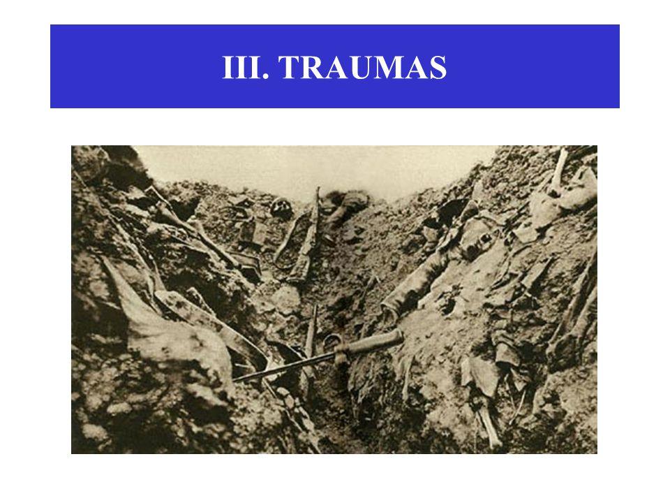 III. TRAUMAS