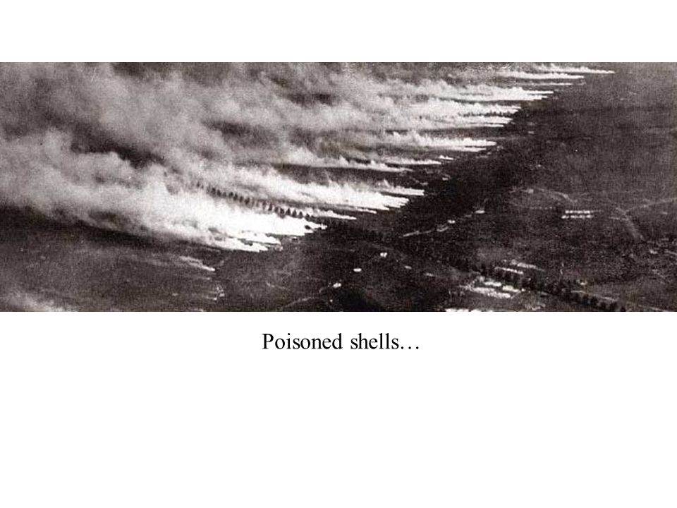 Poisoned shells…