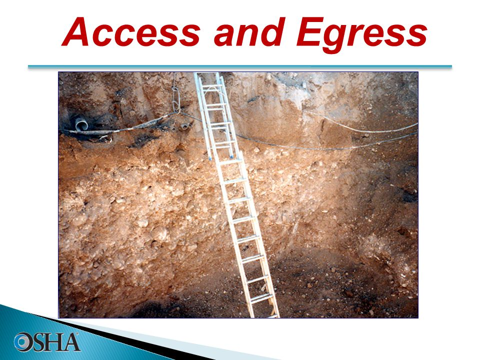 Access and Egress 19