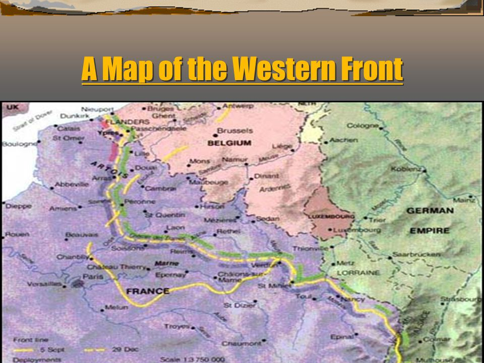 A Map of the Western Front