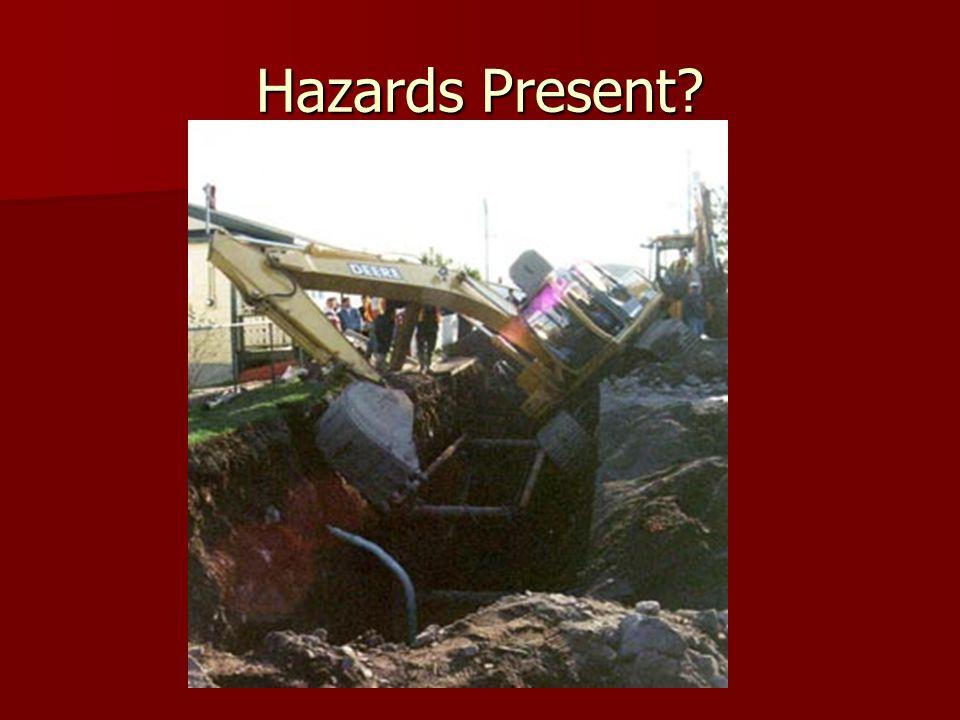 Hazards Present