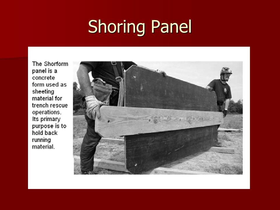 Shoring Panel