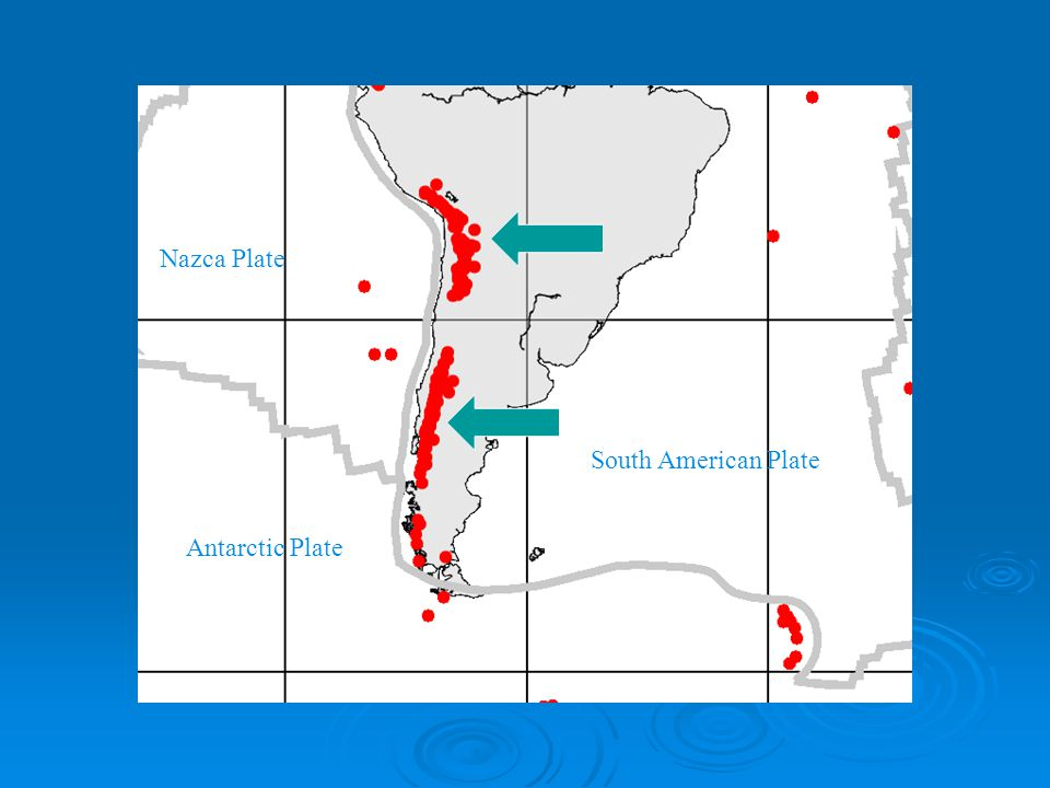 South American Plate Nazca Plate Antarctic Plate