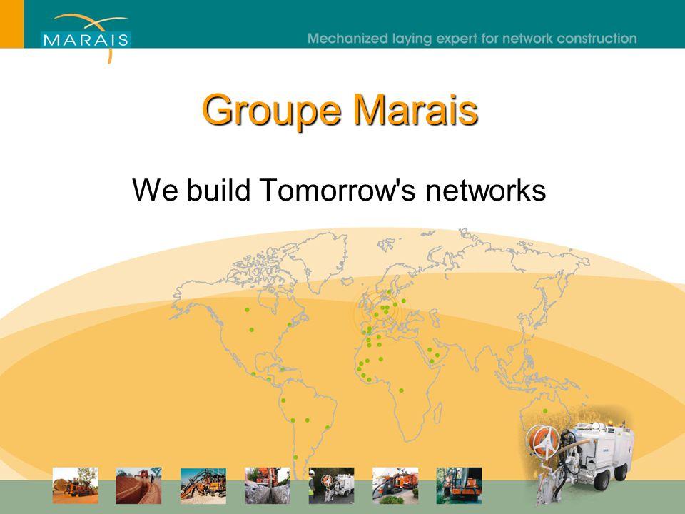 Groupe Marais The Marais Group remains at your disposal - thank you.