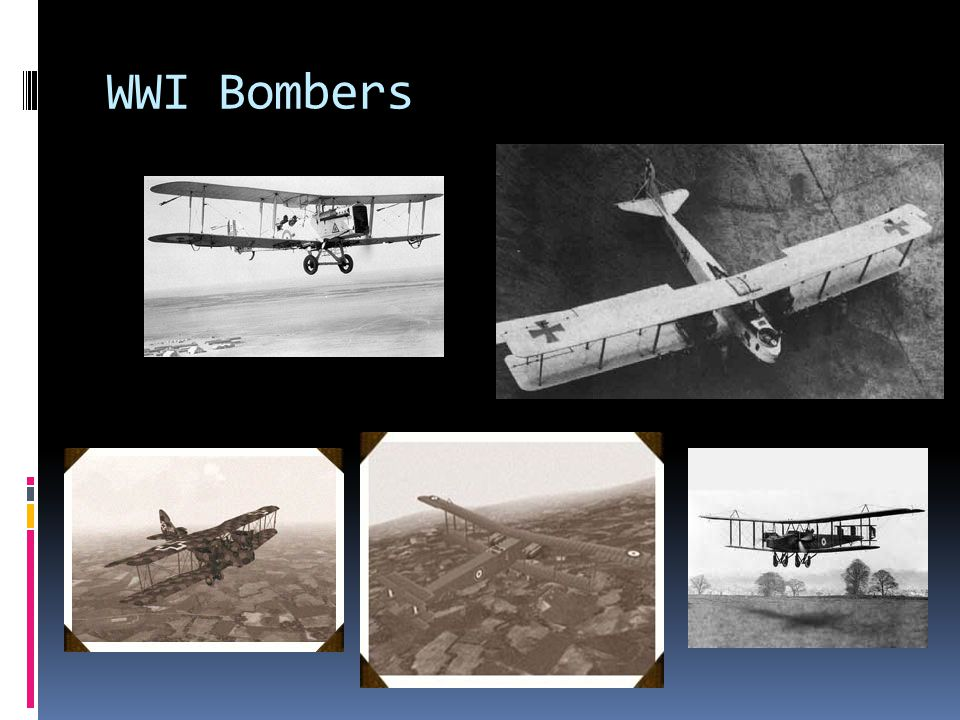 WWI Bombers