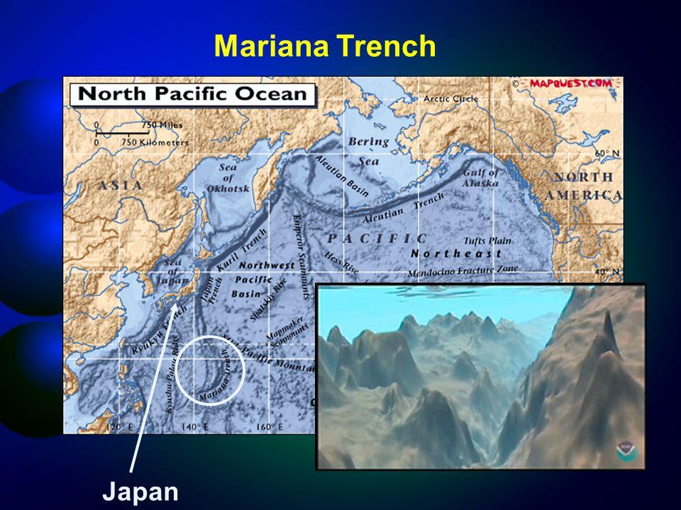 Japan Mariana Trench