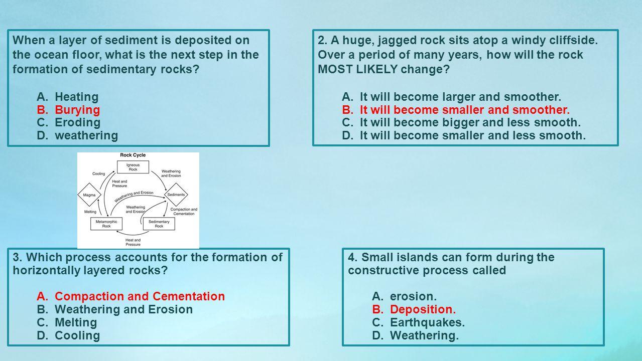 Standards Review Ocean Characteristics S6E3.