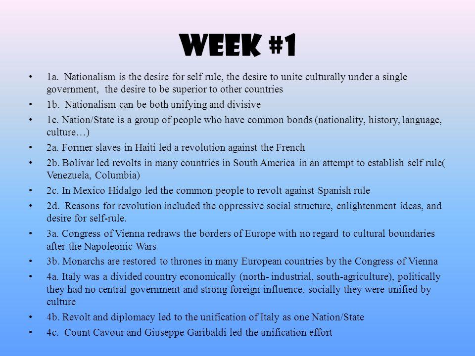 Week #1 1a.