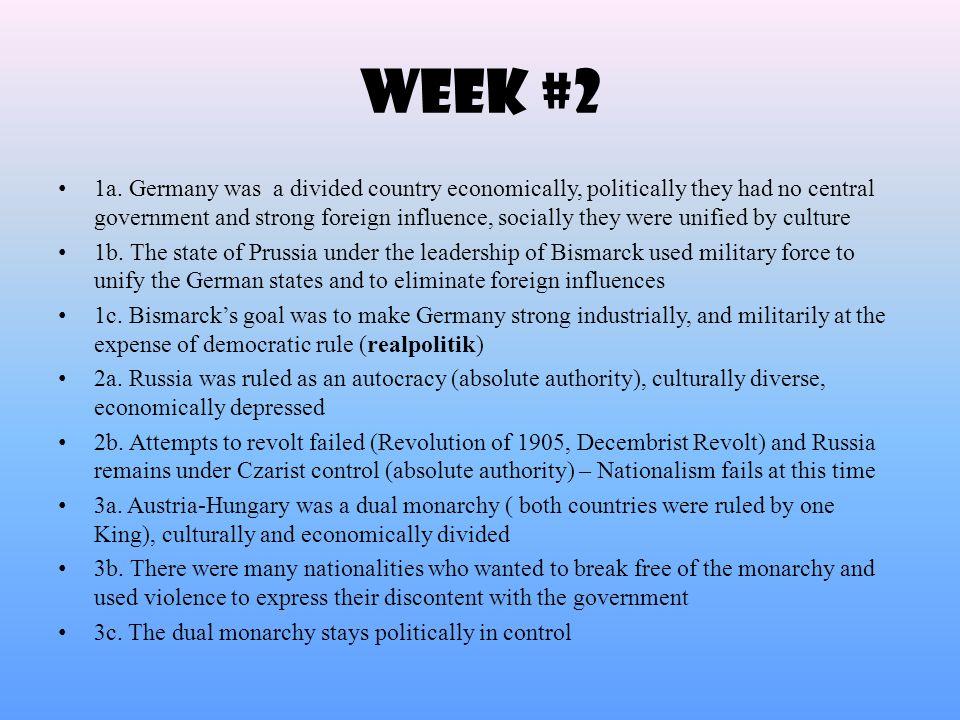 Week #2 1a.