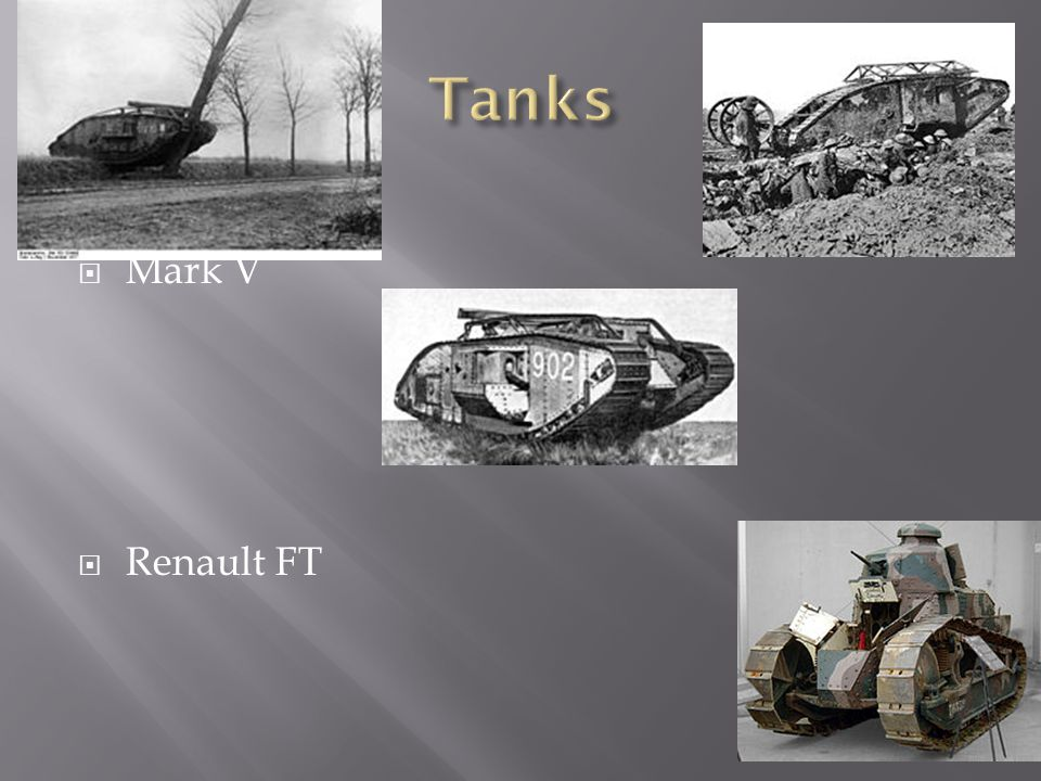  Mark V  Renault FT